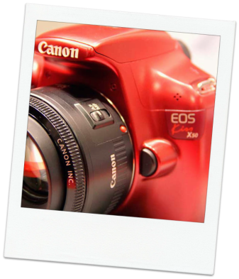 Canon X50.EOS Kiss (red)